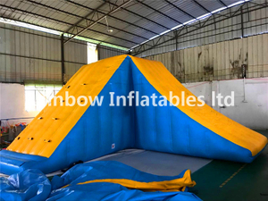 High Quality Commercial Inflatable Water Tower Climbing Wall for Sale