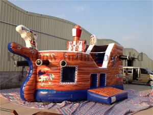 RB11008(6.2x4m)Inflatable pirate ship for sale