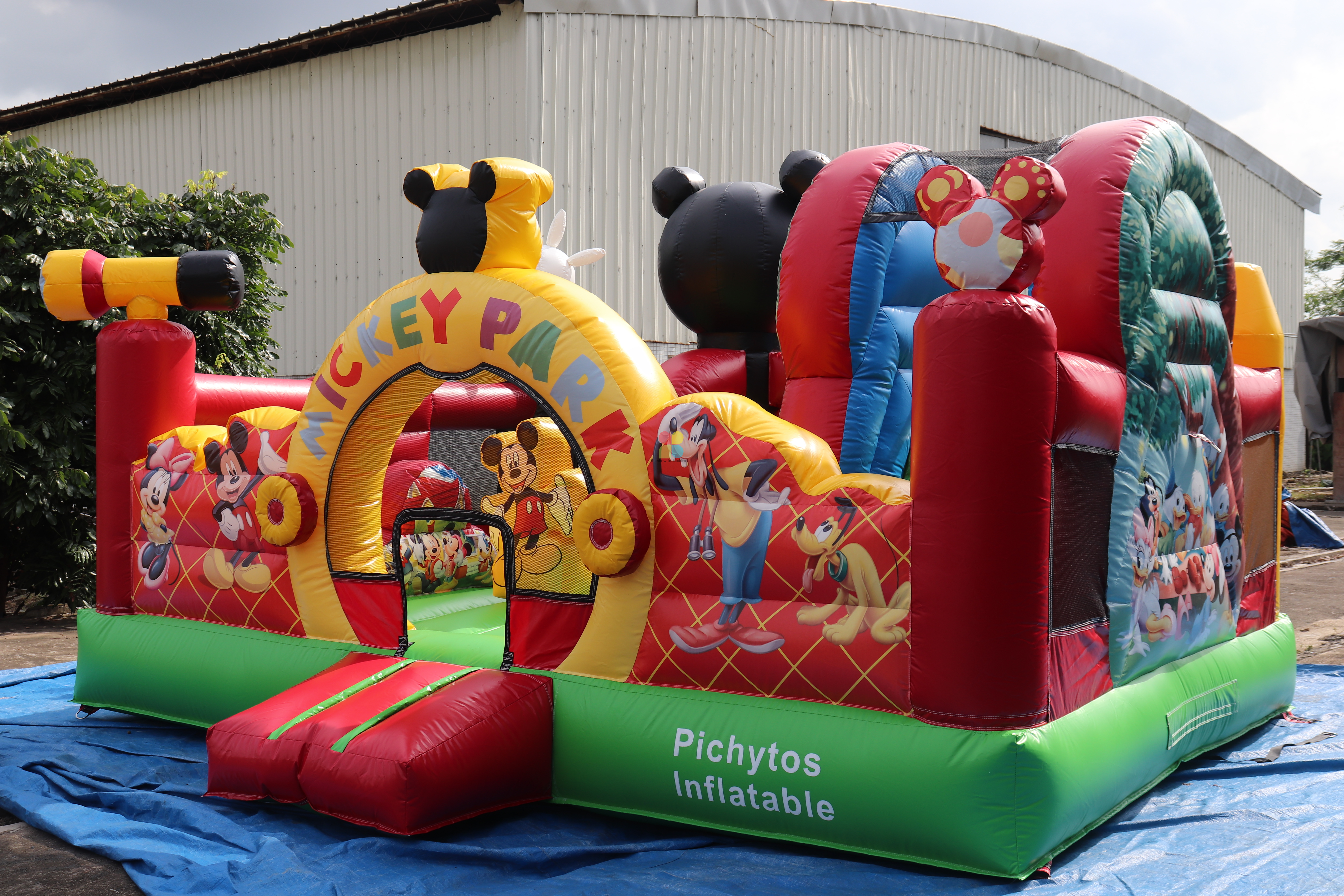 High Quality Commercial Inflatable Mickey Mouse Playground Funland