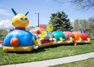 Inflatable Caterpillar Crawl Manufacturer And Supplier