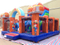 RB4127( 6x6.5m )Inflatable pirate theme funcity for sales