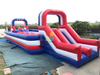 Inflatable Double Big Baller Adults Wipeout