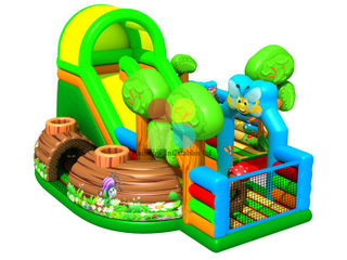 New Design Commercial Inflatable Jungle Theme Playground House
