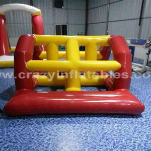 RB31044(2x1.5m)Inflatable floating island water totter for sale