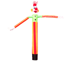 RB23009(6m) Inflatable new design clown air dancer /inflatable sky dancer