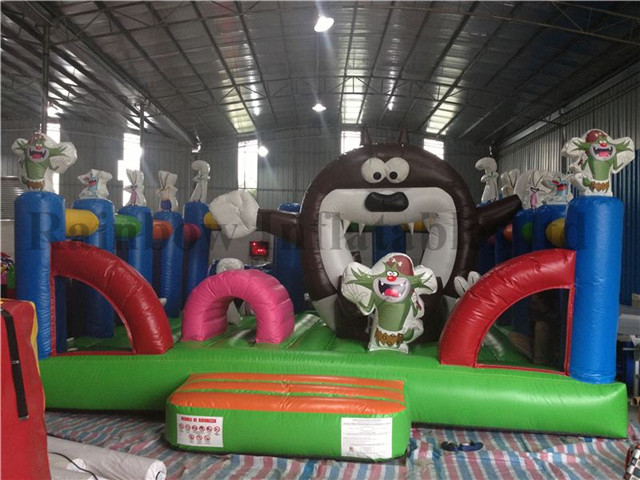 Best Quality Commercial Inflatable Totoro Theme Playground for Kids
