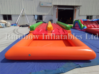 Outdoor Durable Inflatable Slip And Slide with Pool for Kids