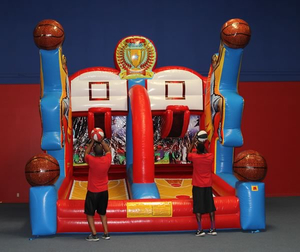Indoor Commercial Inflatable Basketball Game for Adults