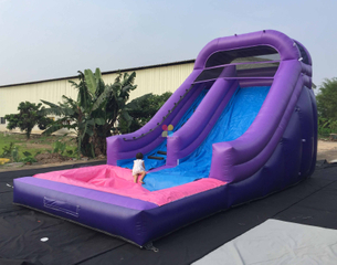 Big Tobogan Water Slides with Blower For Sale