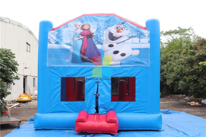Frozen Inflatable Module Jumpers 5 in 1