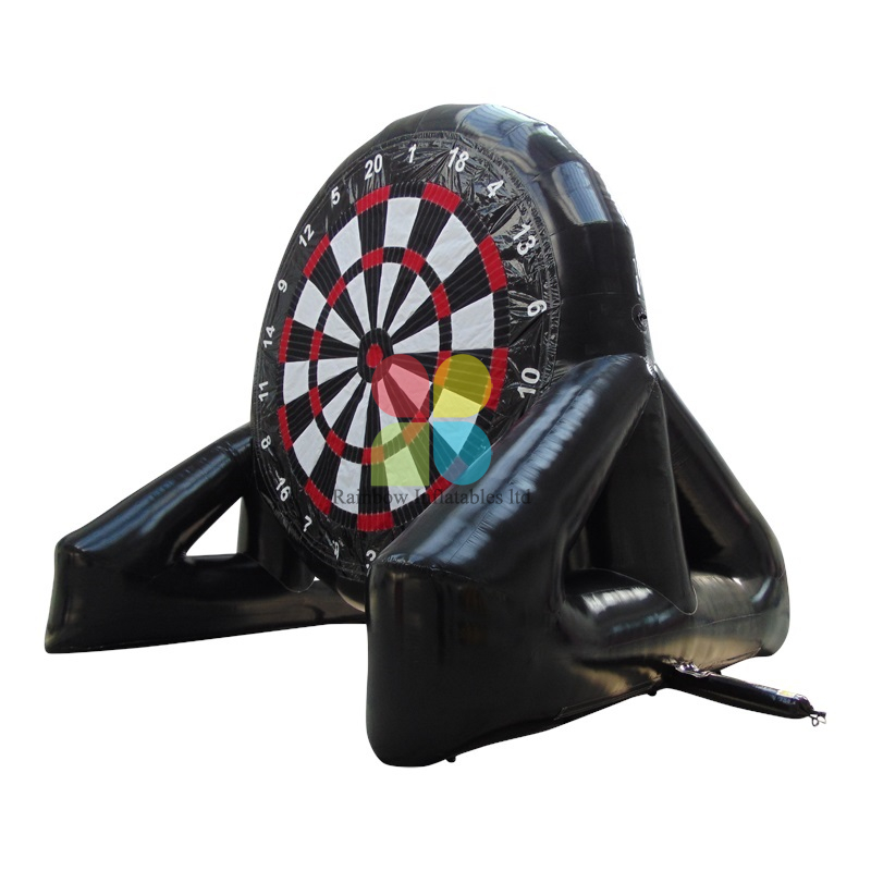 China Cheap Inflatable Rainbow Football Dart Games for Sale