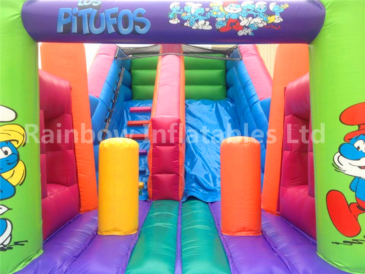 RB6107(3x6.5x4m) Inflatables francisco double slide
