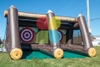 Inflatable Axe Throwing Game Party Rental Axe Throwing Inflatable Game for Sales