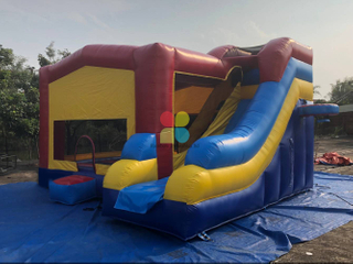 Hot Bounce House Bouncer Castle Inflatable with Slide