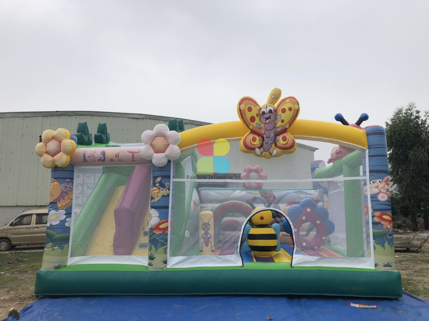 Inflatable Insects Wonderland