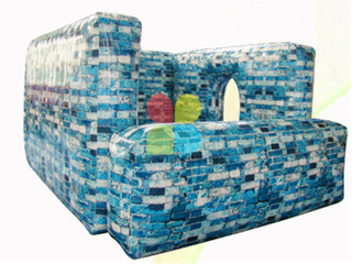 Big Size Outdoor Inflatable Paintball Bunkers Paintball Kit for Sale