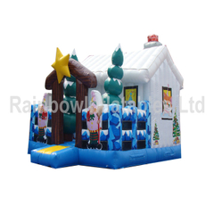 New Design Inflatable Snow Playground House for Kids