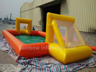 RB10003(12x6x2m)Inflatable soap football field soccer game