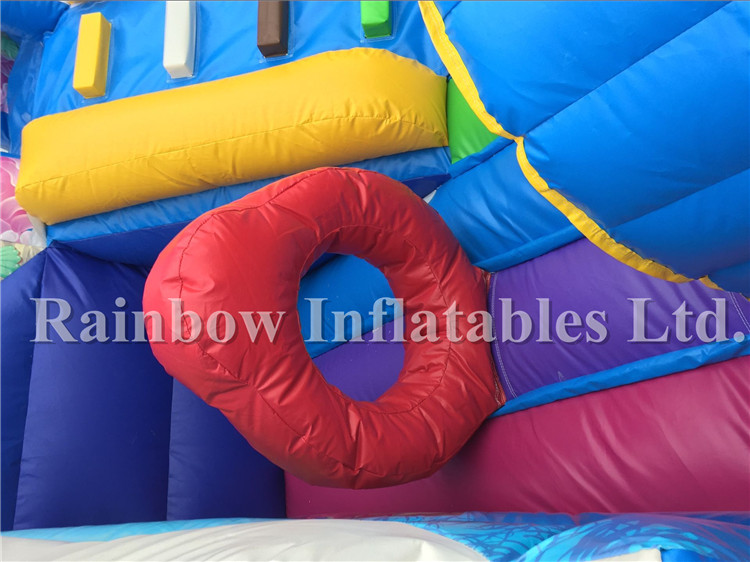 Best Quality outside Inflatable Underwater World Theme Playground for Children