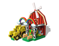 China Customized Inflatable Little Farm