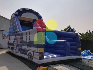 Large Outdoor Commercial Inflatable Dry Slide for Sale