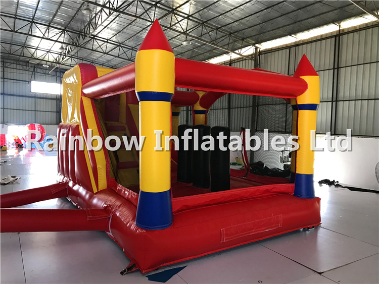 Mini Outdoor Commercial Durable Inflatable Combo