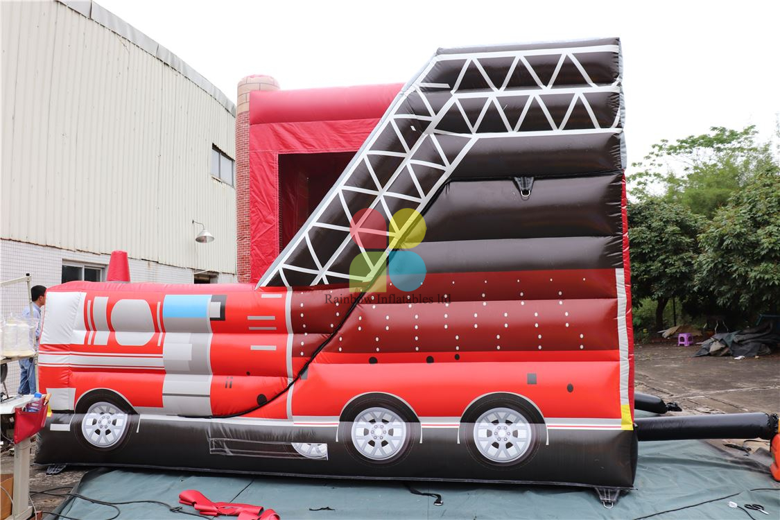 Fire Station Bounce And Slide Combo