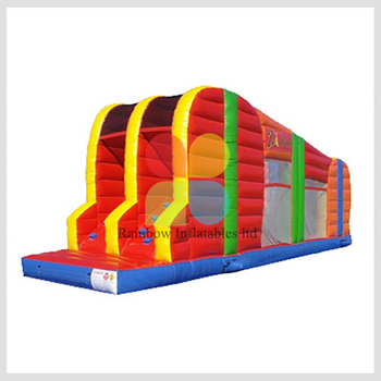 Inflatable Zip Line Slide Sports Game