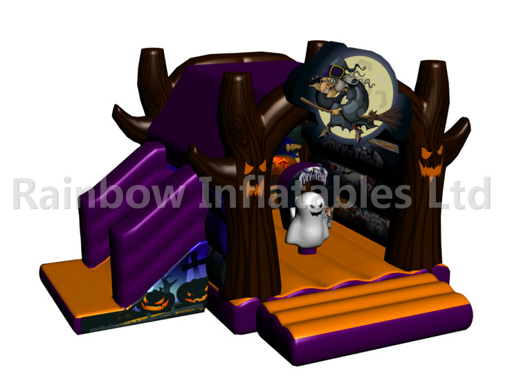 RB03107(4.5x5x3.5m) Inflatable Halloween Witch combo for child new design