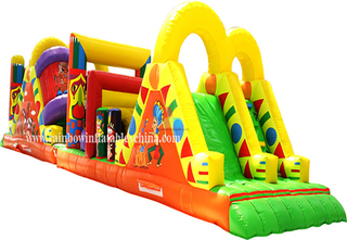 Inflatable Hot sale hign quality Long Obstacle Training Race