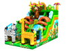 RB03012(9x5m) Inflatable Jungle Obstacle with Slide hot sales