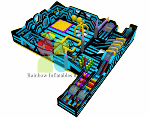 Indoor Outdoor Trampoline Theme Park Kids And Adult Play Area for Sale