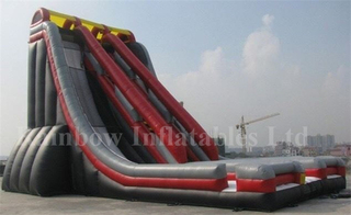 High Quality Commercial Inflatable High Slide with Platform for Adults