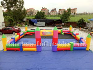 RB20024-2(10.2x8m) Inflatable Outdoor Bouncer Outdoor Playground Fence Best Selling