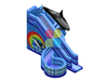 RB06108(6x9x3.8m)Inflatable whale water slide hot sale