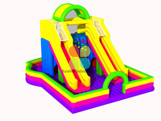 New Design Outdoor Inflatbale Kids Slide for Rental