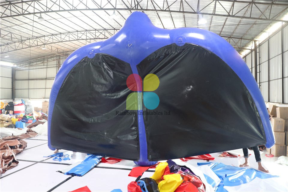 Inflatable flying fish tube towable water sports inflatable flying manta ray