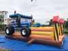 Inflatable Tractor Bouncer with Slide