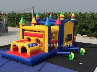 RB5054-1(8x4m)Inflatable Jumping Castle Obstacle Courses for Kids