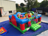 Outdoor Commercial Durable Inflatable Lego Playground Funcity