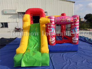 RB3061(3.6x3x2.5m) Inflatable Party Rental Bouncer Slide/Indoor Inflatable Combo