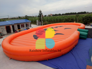 Most Popular Holloween Inflatable Pumpkin Pad Jumping Pad for Kids And Adults