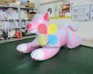 LED Lighting Inflatable Pink Panther small animal toys for decorations
