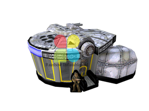 CS Star Wars Inflatable Bouncer Interactive Sport games