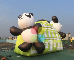 Outdoor Inflatable Panda Animal Cartoon toys for Decoration