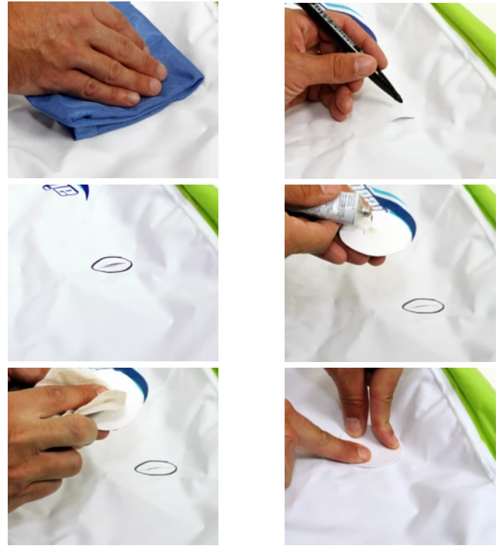 How to Repair Holes in Seams on Inflatables