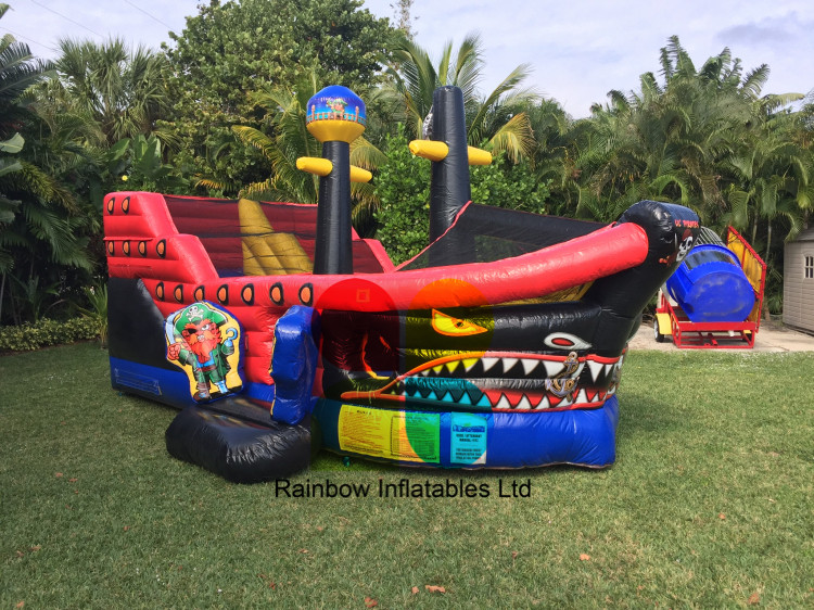 Toddler Adventure Inflatable Bouncy Ship