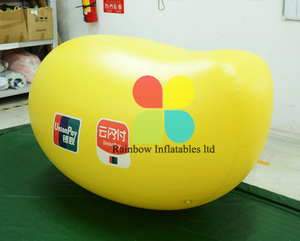 Inflatable Yellow Mango toys Products for advertising