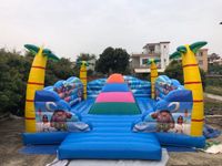2020 best selling inflatable mountain climbings, outdoor Inflatable play equipment the inflatable soft mountains for sale