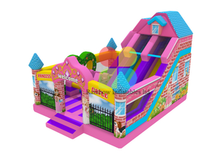 Princess Bounce House With Slide Large Bouncy Castles With Cheap Prices
